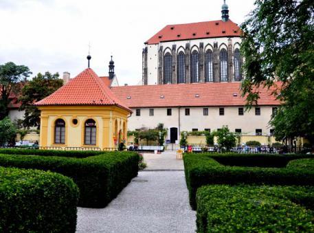 Koncert ve Františkánské zahradě