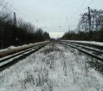 koleje v Dolních Počernicích