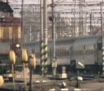 Ve vlaku mezi Berounem a  Prahou