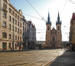 Kostel sv. Antonína na Strossmayerově náměstí