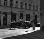 Drožka v Maiselově ulici